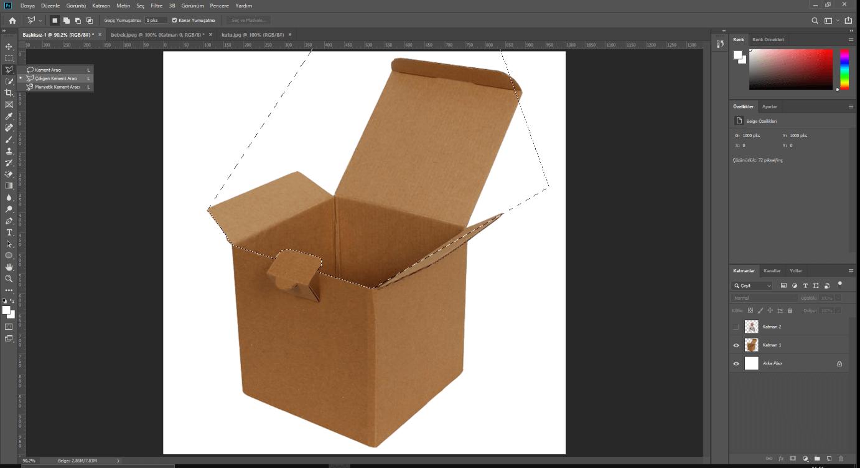 Photo of Photoshop cs6'da nesne içine nesne koyma